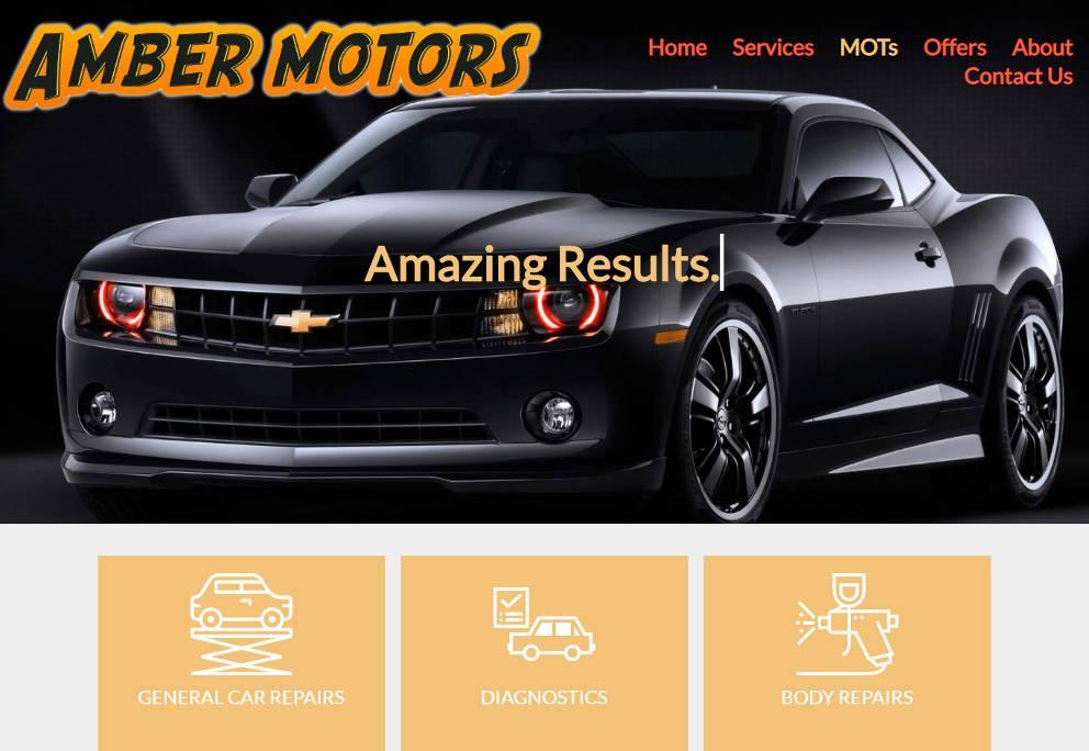 Garage Websites 4 U Example Website 5 Image